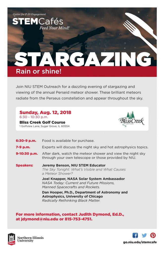 STEM Stargazing flyer